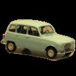 Renault 4L 1:24 Autómodell