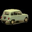 Renault 4L 1:24 Makettautó