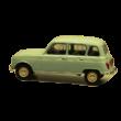 Renault 4L 1:24 Metálautó
