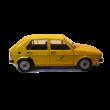 Volkswagen Golf I. Post Office 1:18 Fémautó