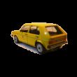 Volkswagen Golf I. Post Office 1:18 Makettautó