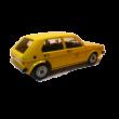 Volkswagen Golf I. Post Office 1:18 metálautó