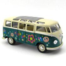 Volkswagen Classic busz virágos 1:24