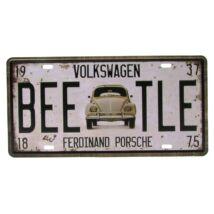 Fém Dekortábla 15 x 30 cm - Beetle