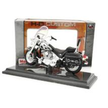 Harley Davidson FLSTC Heritage 2002 1:18 Motor 4