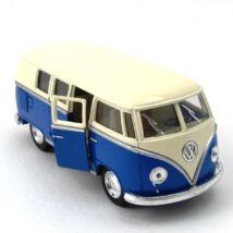 Volkswagen Classical Busz vajszínű tetős fémautó 3