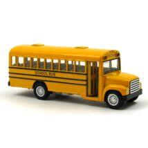 Iskolabusz fémautó