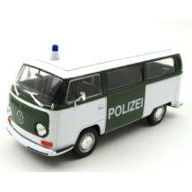 Volkswagen Bus T2 1972 Polzei 1:24 játékautó