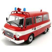 Barkas B 1000 Feuerwehr 1:18 fémautó