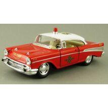 Chevrolet Bel Air 1956 Tűzoltó Modellautó