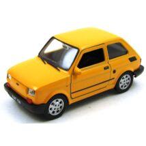 Fiat 126 dobozban fémautó