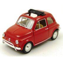 Fiat 500 1:24 fémautó