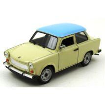 Trabant 601 1:24 kék tetős fémautó