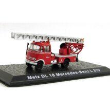 Tűzoltó -  Metz DL 18 Mercedes-Benz L 319