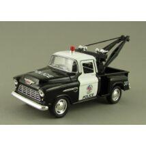 Chevy Stepside Pick-up 1955 Police Játékautó