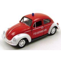 Volkswagen Beetle Feuerwehr fémautó