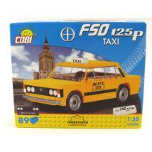 Cobi Építőjáték -  Fiat 125P Taxi