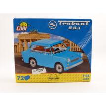 Cobi Építőjáték - Trabant 601 Kék