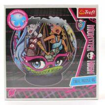 Monster High Cleo és Ghoulia gömb puzzle-96 db
