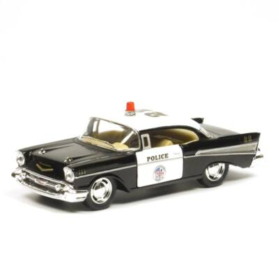Chevrolet Bel Air 1957 Police Modellautó
