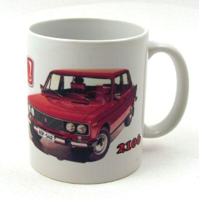 Retró bögre-Lada 2106