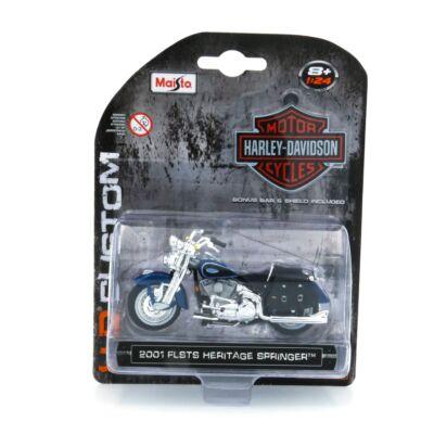 Harley Davidson FLSTS Heritage Springer 2001 1:24 Motormodell 1
