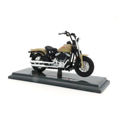 Harley Davidson FLSTSB Cross Bones 2008 1:18 Motormodell 2