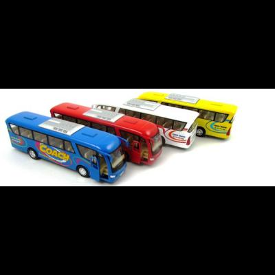 Panoráma Coach busz fémautó