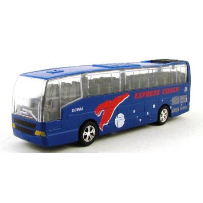 Városnéző Busz Modellautó