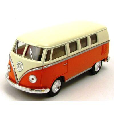 Volkswagen Classical Busz vajszínű tetős fémautó