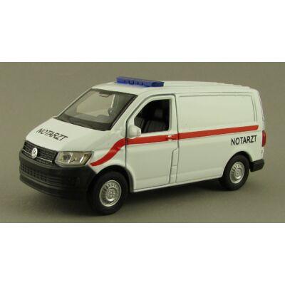 Volkswagen Transporter T6 Van Mentő Modellautó