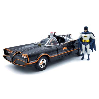 Batmobile 1966 Batman és Robin Figurával 1:24