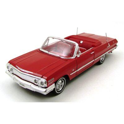 Chevrolet Impala 1963 1:24 autómodell 2