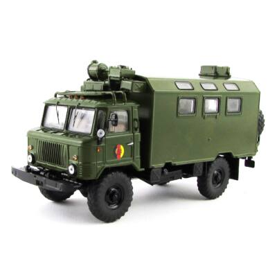 Gaz 66 Kofferaufbau 1:43 Modellautó