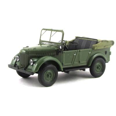 GAZ 69A 1:43 Autómodell