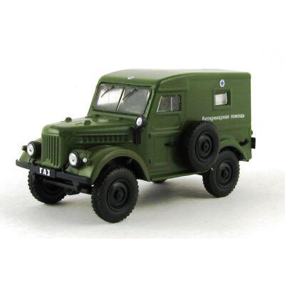 GAZ-69 Zöld 1:43 Modellautó