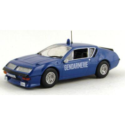 Renault Alpine Polizia 1:43 Autómodell