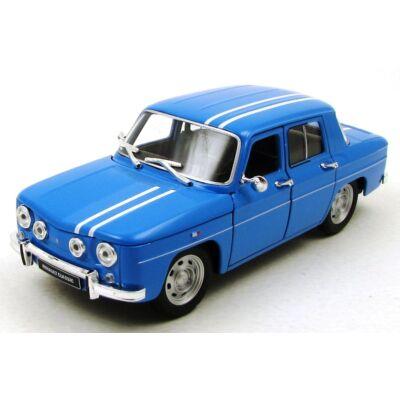 Renault R8 Gordini 1964 1:24 kék fémautó