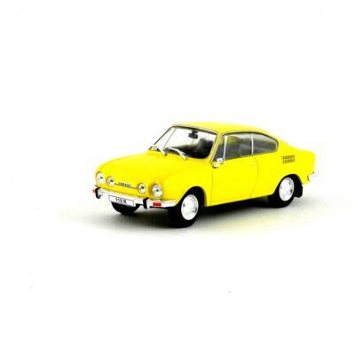 Skoda 110R Vitrinben 1:43 Autómodell
