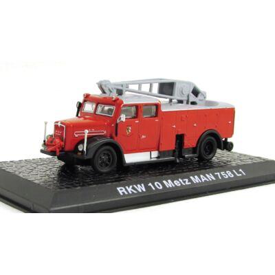 Tűzoltó - RKW 10 Metz Man 758 L1 Modellautó