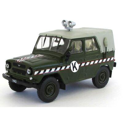 Uaz 469 Rendőr 1:43 Modellautó