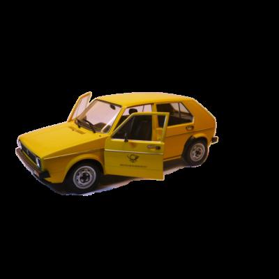 Volkswagen Golf I. Post Office 1:18 Autómodell