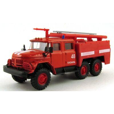 Zil 131 Tűzoltó Tehergépkocsi 1:43 Modellautó