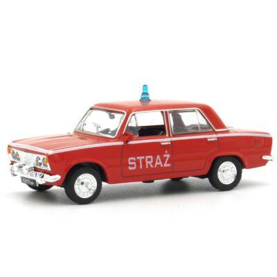 Fiat 125 Tűzoltó 1:43 Modellautó