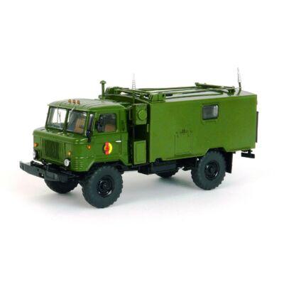 Gaz 66 Funkkoffer R-142 1:43 Modellautó