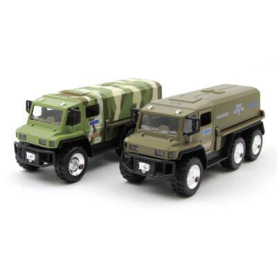 Katonai rakétakilövő teherautó autómodell