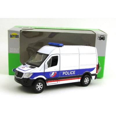 Mercedes-Benz Sprinter Panel Van Police Modellautó