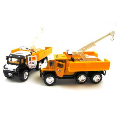 Segélyautó Daru vontatóval Játékautó