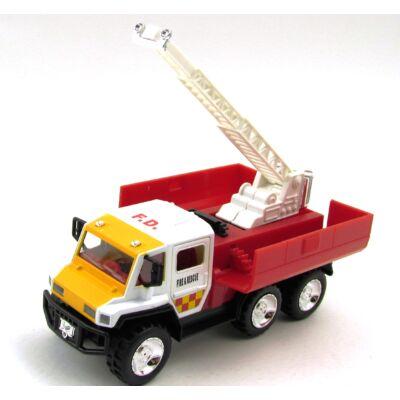 Segélyautó Tűzoltó Létrával Játékautó
