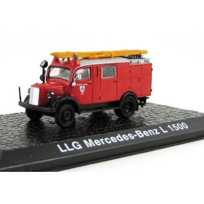 Tűzoltó - LLG Mercedes-Benz L 1500 Modellautó